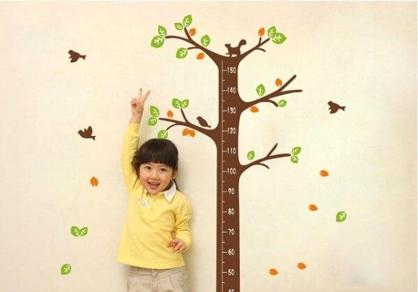 Chiều cao của trẻ phụ thuộc vào nhiều yếu tố