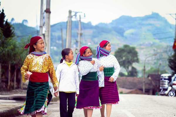 Các cô gái vùng cao tại Hà Giang