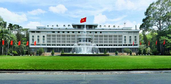 Dinh Độc lập trước đây là nơi ở của Tổng thống Việt Nam cộng hòa
