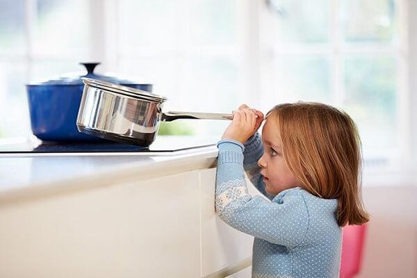 An toàn ở bếp là yếu tố cần được lưu tâm