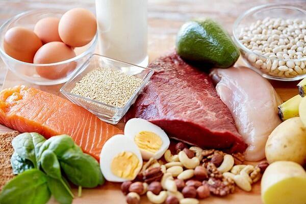 Các thực phẩm cung cấp Prrotein