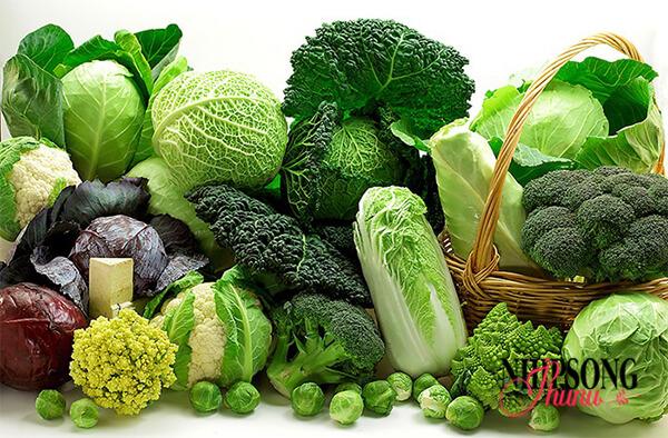 Ăn rau nhiều rất tốt cho sức khỏe