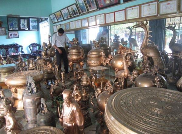 Làng nghề đúc đồng là một trong những làng nghề thủ công truyền thống của Hưng Yên