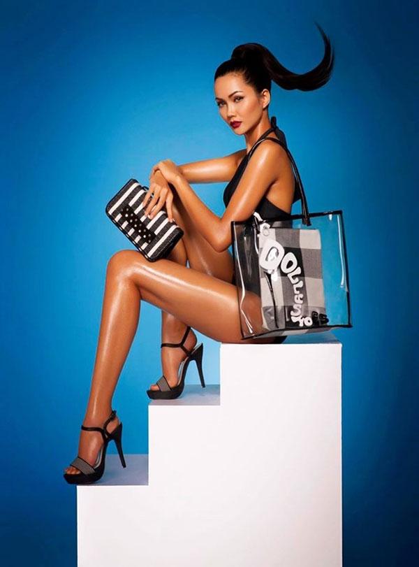 Trước khi đăng quang hoa hậu, H'Hen Niê từng làm người mẫu
