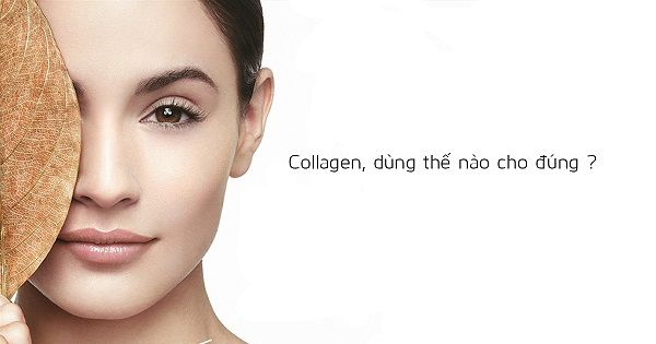 Thuốc uống trắng da collagen