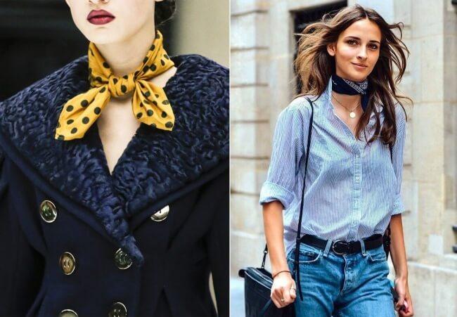 Con gái Pháp đặc biệt thích khăn lụa - Mặc đẹp như phụ nữ Pháp