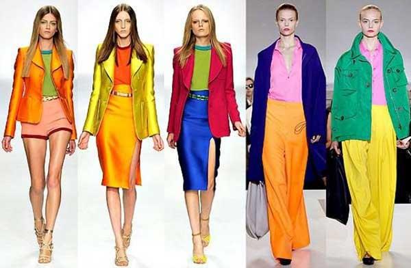 Cách phối màu quần áo chữ T cho nữ