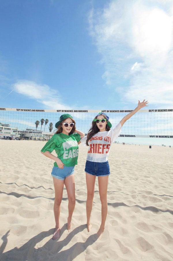 Quần shorts giúp phái đẹp trẻ trung và năng động hơn