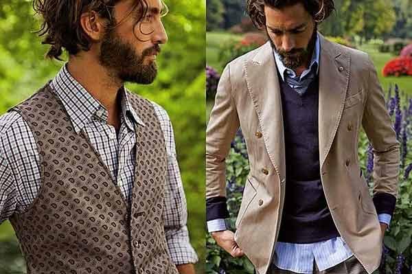 Chất liệu hài hòa sẽ làm làm tôn lên trang phục đẹp, ấn tượng cho nam