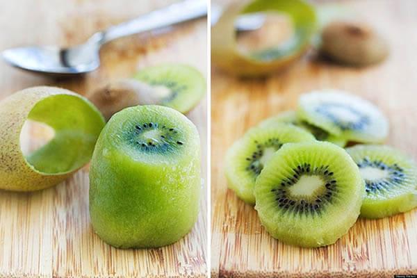 Mẹ bầu ăn trái cây nên ăn ngay sau khi gọt, không nên để lâu