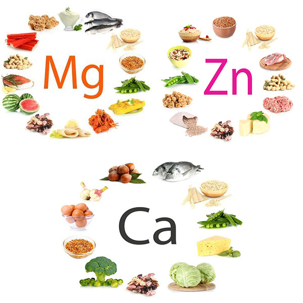 Thực phẩm giàu khoáng chất hỗ trợ phát triển chiều cao