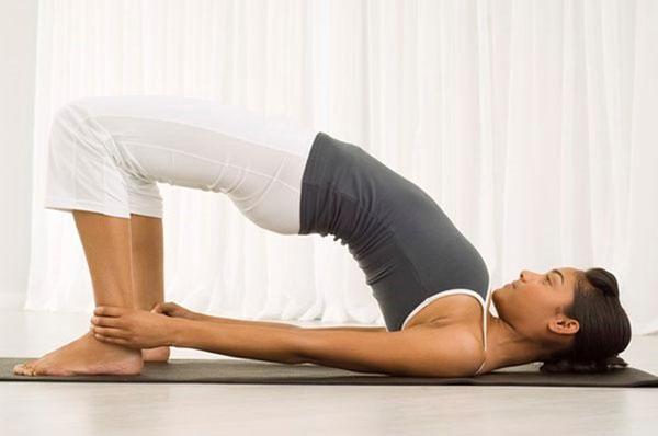 Tư thế cầu vồng trong yoga
