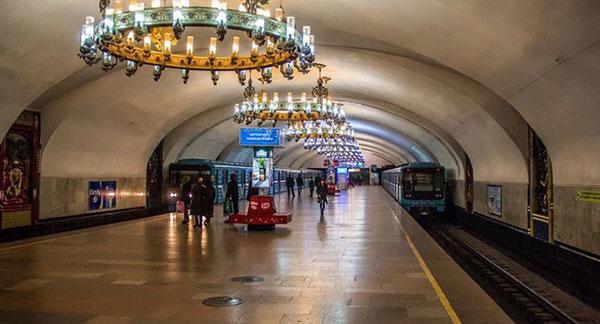 Hệ thống tàu điện ngầm ởUzbekistan khá hiện đại