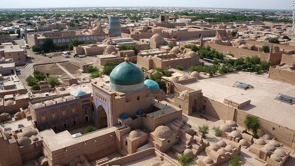 Uzbekistan hiệngiữ nguyên được sự thô sơ và tự nhiên