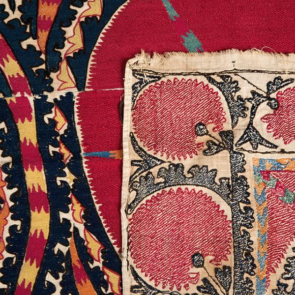 Thêu ren được xem là loại hình ghệ thuật đặc trưng ởUzbekistan