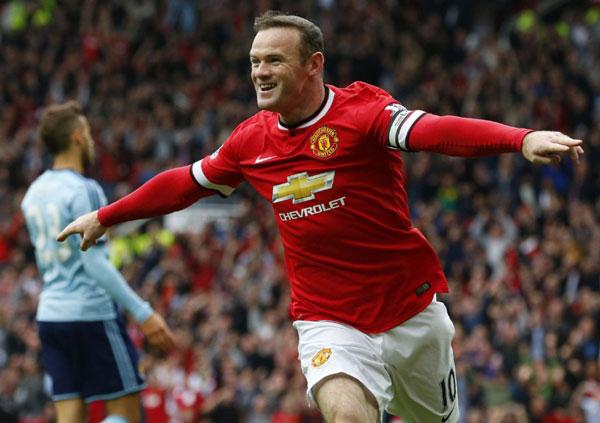 Rooney cầu thủ bóng đá nổi tiếng của MU