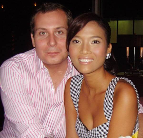 Người mẫu Bằng Lăng - Sao Việt lấy chồng tây