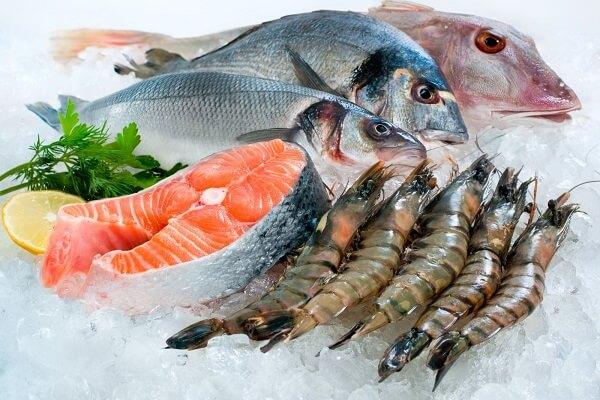 hải sản tươi ngon