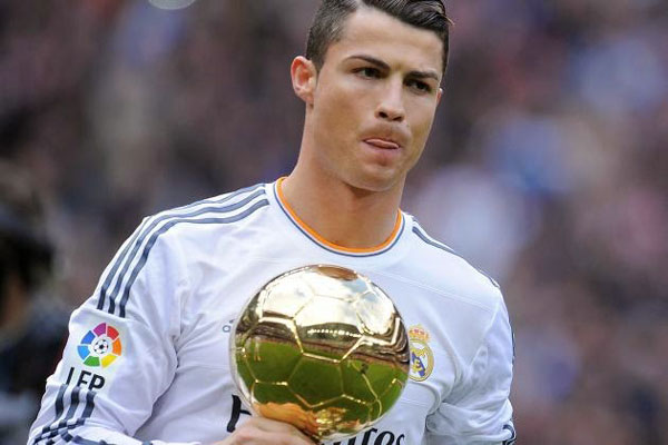 Ranaldo là cầu thủ đắt giá nhất của Real Madrid