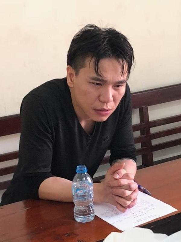 Hình ảnh của Châu Việt Cường tại cơ quan điều tra