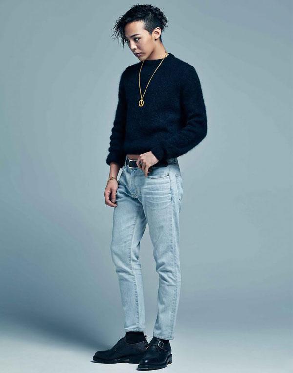 Trên Profile của mình G Dragon ghi chiều cao của mình là 1m77