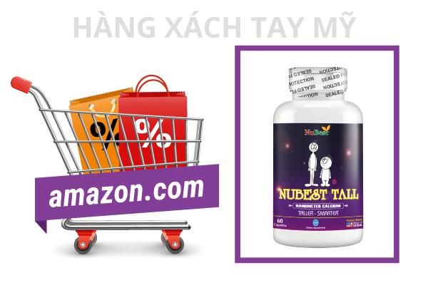 NuBest Tall hàng xách tay Mỹ bán với giá ưu đãi tại Việt Nam