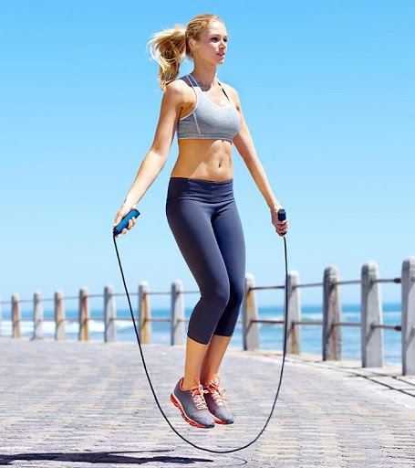 Bí quyết tăng chiều cao với nhảy dây
