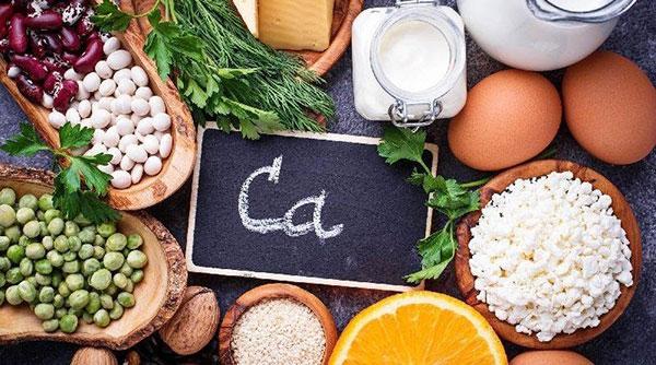 Canxi có mặt trong nhiều thực phẩm tự nhiên