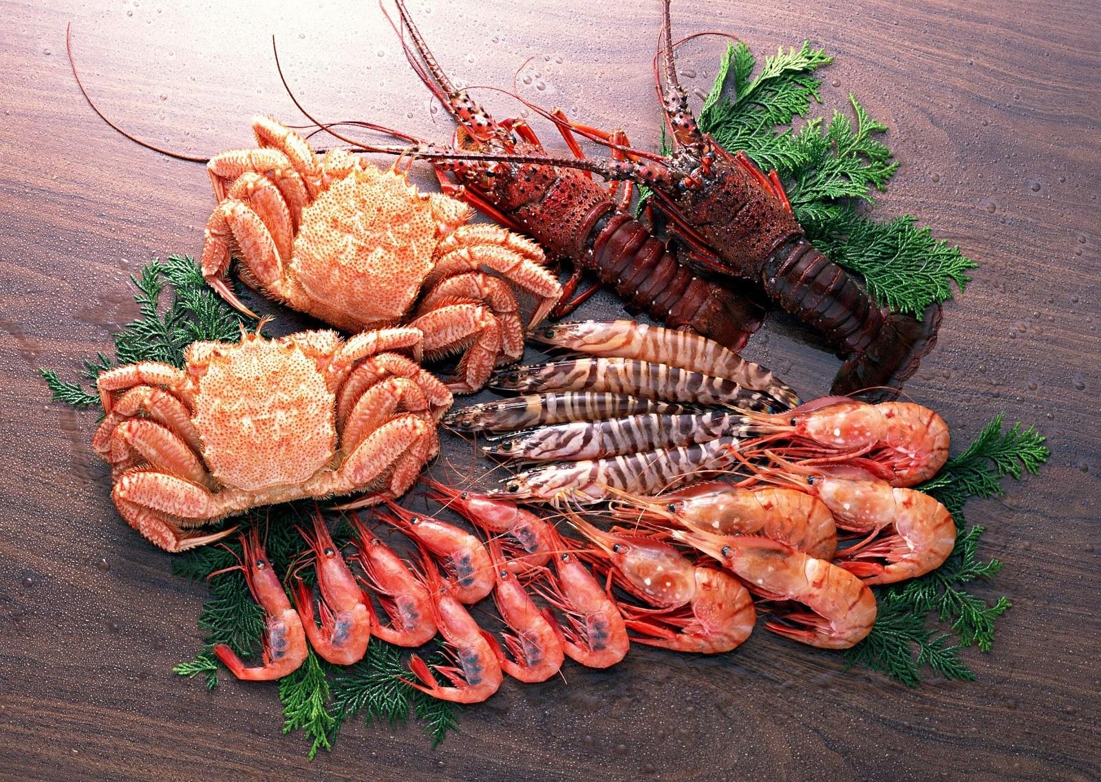 Hải sản chứa rất nhiều chất dinh dưỡng cần thiết cho cơ thể, đặc biệt là Canxi