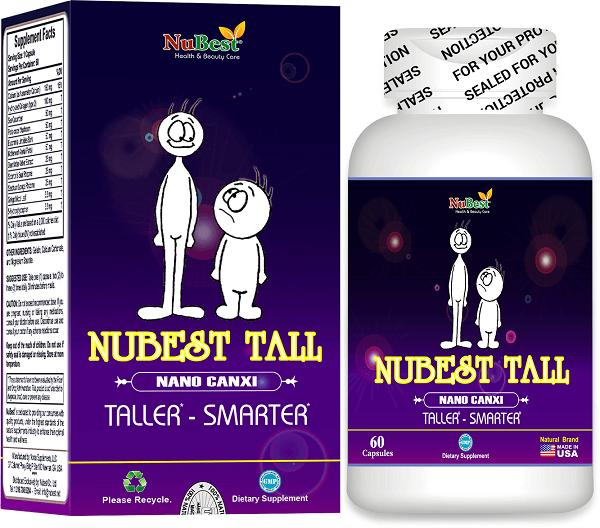 Thực phẩm chức năng tăng chiều cao NUBEST TALL
