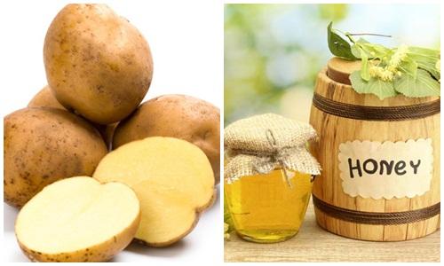 Cách làm mặt nạ khoai tây mật ong mang lại rất nhiều công dụng trong việc chăm sóc da
