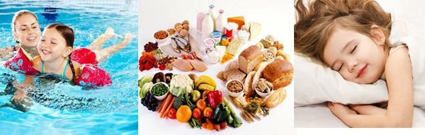 nubest tall và chế độ ăn uống nghỉ ngơi