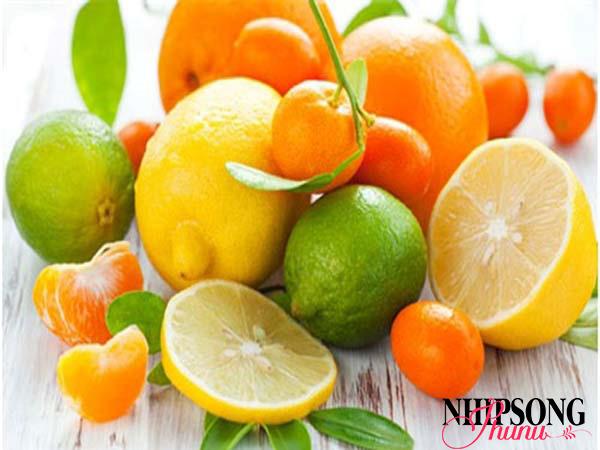 Các thực phẩm chứa nhiều Vitamin C