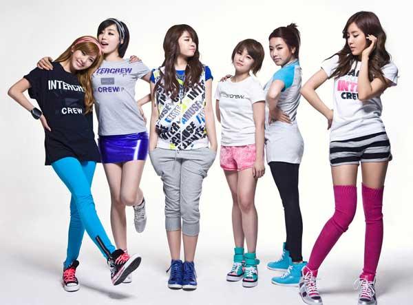 Nhóm nhạc T-ara Hàn Quốc