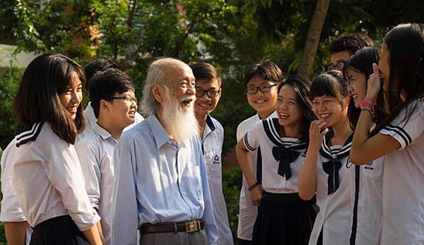 Thầy Văn Như Cương là một nhà giáo có tâm với nghề