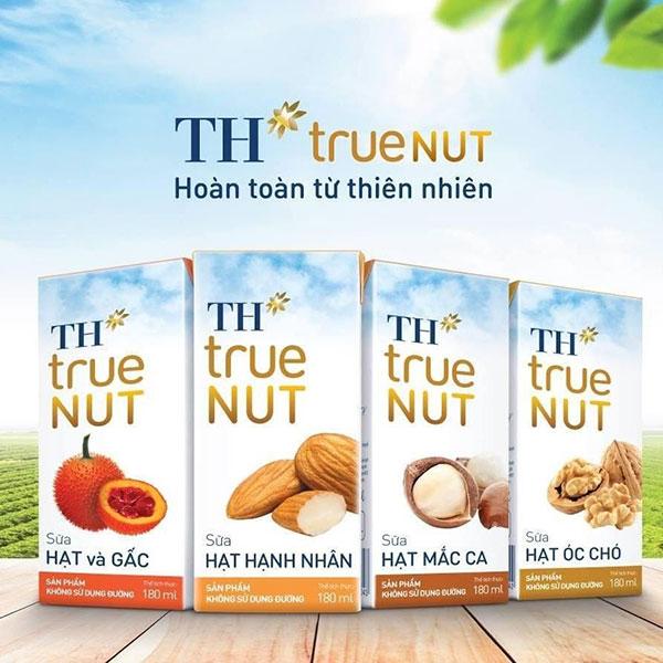 TH True Milk - Một thương hiệu sữa hạt được ưa chuộng tại Việt Nam